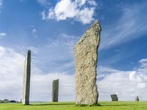 Standing Stones of Stenness, Orkney islands, Scotland. by Martin Zwick