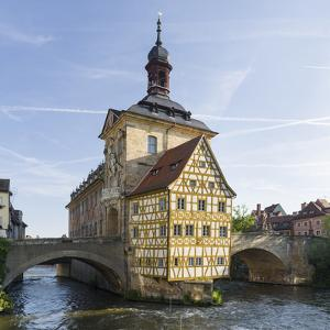 The Alte Rathaus, landmark of Bamberg in Franconia, a part of Bavaria. The Old Town is listed as UN by Martin Zwick