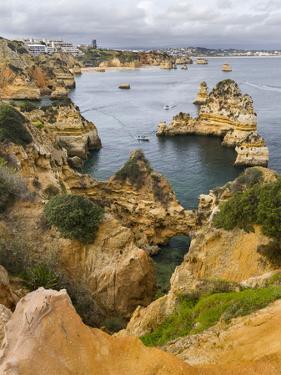 The cliffs and sea stacks of Ponta da Piedade, Algarve, Portugal. by Martin Zwick