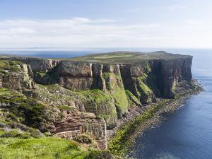 The cliffs of Hoy island, Orkney islands, Scotland. by Martin Zwick