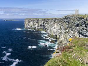 The Cliffs of Marwick Head, Kirkwall, Orkney islands, Scotland. by Martin Zwick