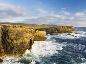 The Cliffs of Yesnaby in Orkney, Orkney islands, Scotland. by Martin Zwick