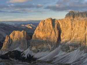 The Fanes Mountains in the Dolomites. Italy by Martin Zwick