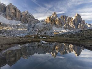 The Fanis Mountains Seen from Val Travenanzes , the Dolomites Near Cortina D'Ampezzo by Martin Zwick