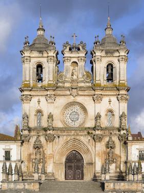 The monastery of Alcobaca, Mosteiro de Santa Maria de Alcobaca. Portugal. by Martin Zwick