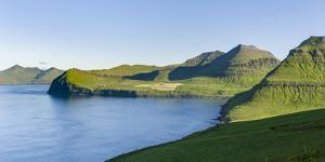 The mountains and cliffs. Denmark, Faroe Islands by Martin Zwick