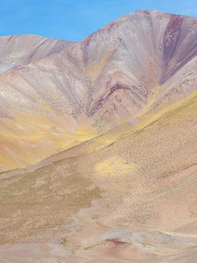 The mountains of the Altiplano, near the village of Tolar Grande, close to the border of Chile. by Martin Zwick