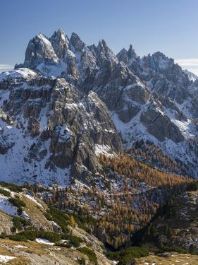 The Peaks of the Cadini Mountain Range, Cadini Di Misurina in the Dolomites, Tre Cime Di Lavaredo by Martin Zwick