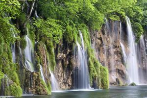 The Plitvice Lakes in the National Park Plitvicka Jezera, Croatia by Martin Zwick