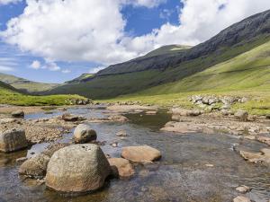 The valley of Saksun. Denmark, Faroe Islands by Martin Zwick