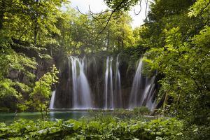 Upper Lakes, Ponds and Waterfalls, Plitvice Lakes, Plitvicka Jezera, Croatia by Martin Zwick
