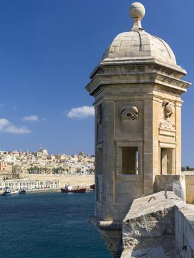 View of Valletta with Grand Harbor Seen from Senglea, Valletta, Malta by Martin Zwick