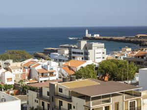 View over quarter Prainha. The capital Praia on Santiago Island by Martin Zwick