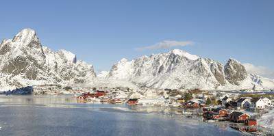 Village Reine on the island Moskenesoya. Lofoten Islands, Norway by Martin Zwick