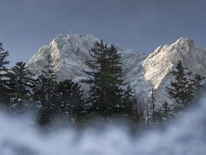 Zugspitze, Lake Eibsee, Werdenfelser Land, Garmisch-Partenkirchen, Bavaria Germany by Martin Zwick