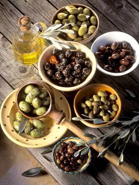 Olives in Bowls by Martina Urban