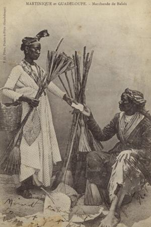 Martinique and Guadeloupe - Brush Merchants