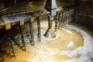 Detail of inside Mash Tun While Making Whisky by MartinM303