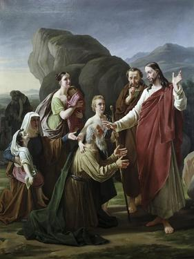 Christ Healing the Blind by Martinus Rorbye