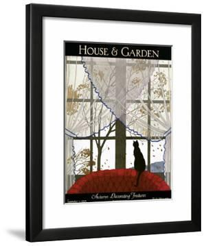 House & Garden Cover - September 1925 by Marty Andr?\.