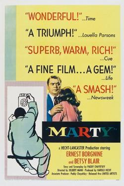 Marty, Ernest Borgnine, 1955