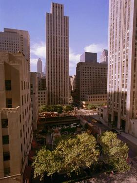 Rockefeller Center by Marty Lederhandler