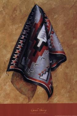 Ganado Weaving by Marty LeMessurier