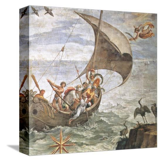 Martyrdom of Saint Clemens-Paul Bril-Stretched Canvas