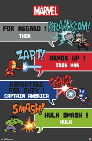Marvel- Avengers 8 Bit