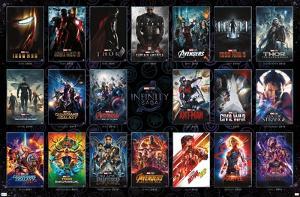 Marvel Avengers: The Infinity Saga - One Sheet Grid