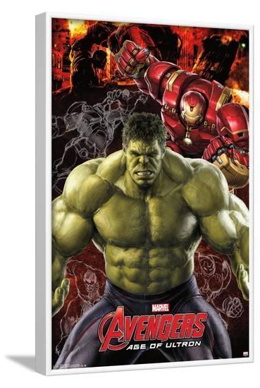 Marvel Cinematic Universe: Avengers: Age of Ultron: Hulk--Framed Poster