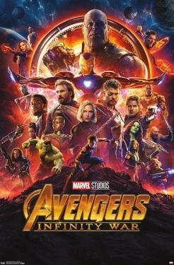 Marvel Cinematic Universe: Avengers: Infinity War - One Sheet