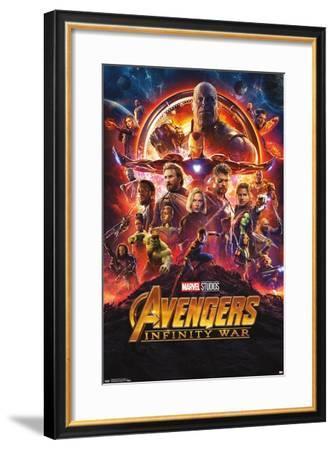 Marvel Cinematic Universe: Avengers: Infinity War - One Sheet--Framed Poster