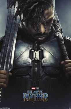 Marvel Cinematic Universe: Black Panther - Erik Killmonger One Sheet