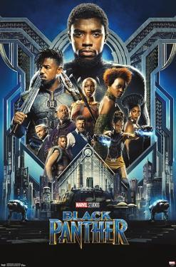 Marvel Cinematic Universe: Black Panther - Group One Sheet