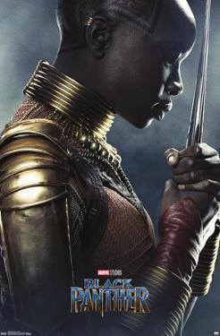 Marvel Cinematic Universe: Black Panther - Okoye One Sheet