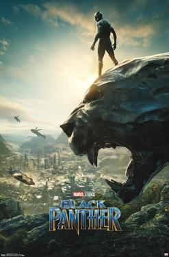 Marvel Cinematic Universe: Black Panther - Panther Monument One Sheet