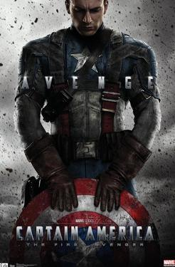 Marvel Cinematic Universe: Captain America: The First Avenger - One Sheet