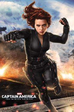 Marvel Cinematic Universe: Captain America: The Winter Soldier - Black Widow