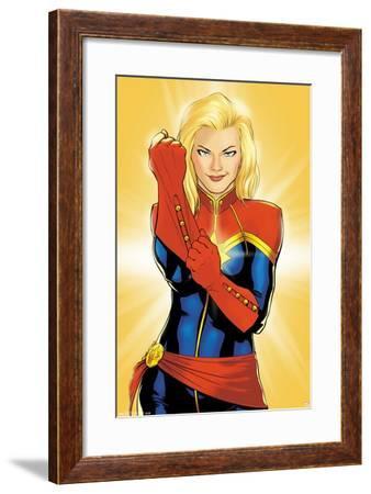 Marvel Cinematic Universe: Captain Marvel - Glove--Framed Poster