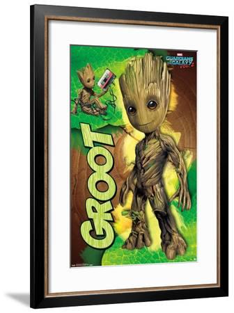 Marvel Cinematic Universe: Guardians of the Galaxy 2 - Groot--Framed Poster