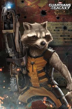 Marvel Cinematic Universe: Guardians of the Galaxy - Rocket Racoon