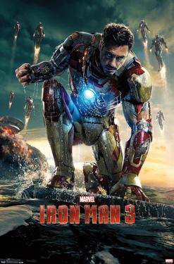 Marvel Cinematic Universe: - Iron Man 3 - One Sheet