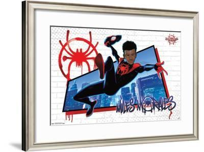 Marvel Cinematic Universe: Spider-Man: Into The Spider-Verse - Miles--Framed Poster