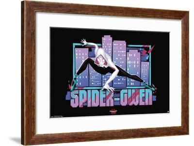 Marvel Cinematic Universe: Spider-Man: Into The Spider-Verse - Spider-Gwen--Framed Poster