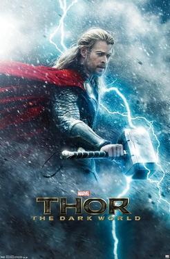 Marvel Cinematic Universe: Thor: The Dark World - One Sheet