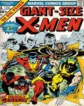 Marvel Classic- X-Men Cover