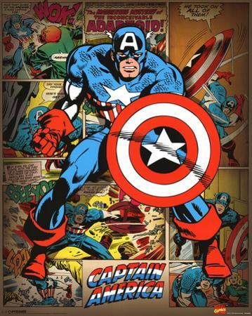 Marvel Comics - Captain America (Retro)