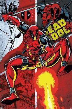 Marvel Comics - Deadpool - Collage