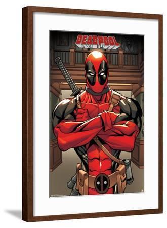 Marvel Comics - Deadpool - Pose--Framed Poster